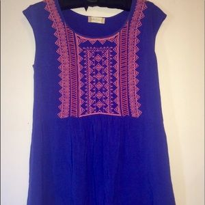 Altar'd State ethnic mini dress or tunic